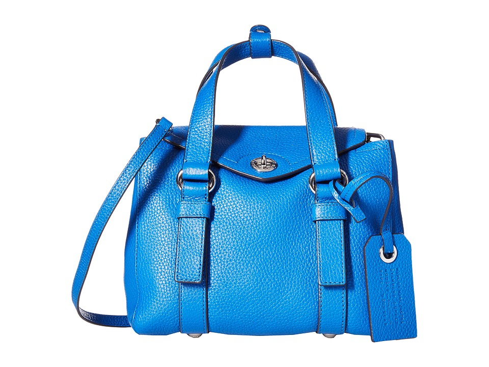 Marc by Marc Jacobs - Working Girl Leather Dolly Satchel Mini (Neptune Blue) Satchel Handbags