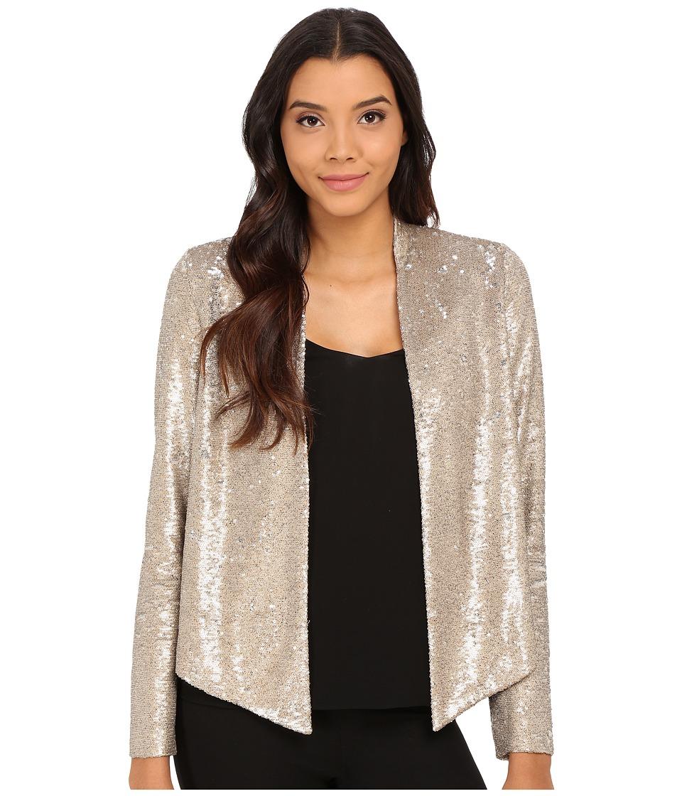 Sam Edelman - Anya Sequin Blazer (Champagne) Women's Jacket
