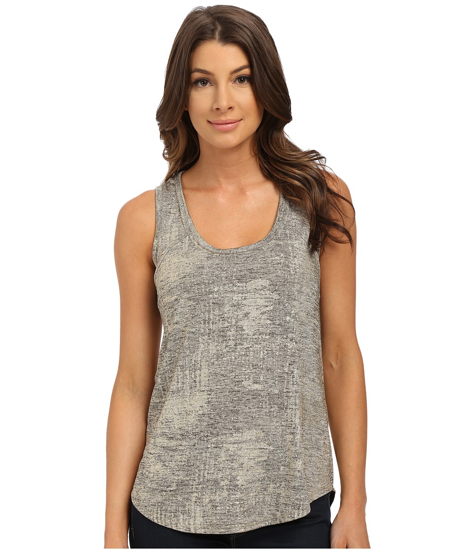 Sam Edelman - Taryn Foil Knit Tank Top (Gold) Women's Sleeveless