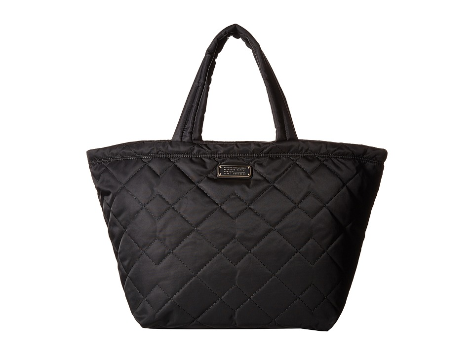 Marc by Marc Jacobs - Crosby Quilt Nylon Weekender (Black) Weekender/Overnight Luggage