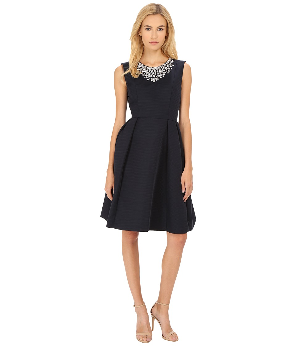Kate Spade New York - Embellished Cambria Dress (Ink) Women's Dress