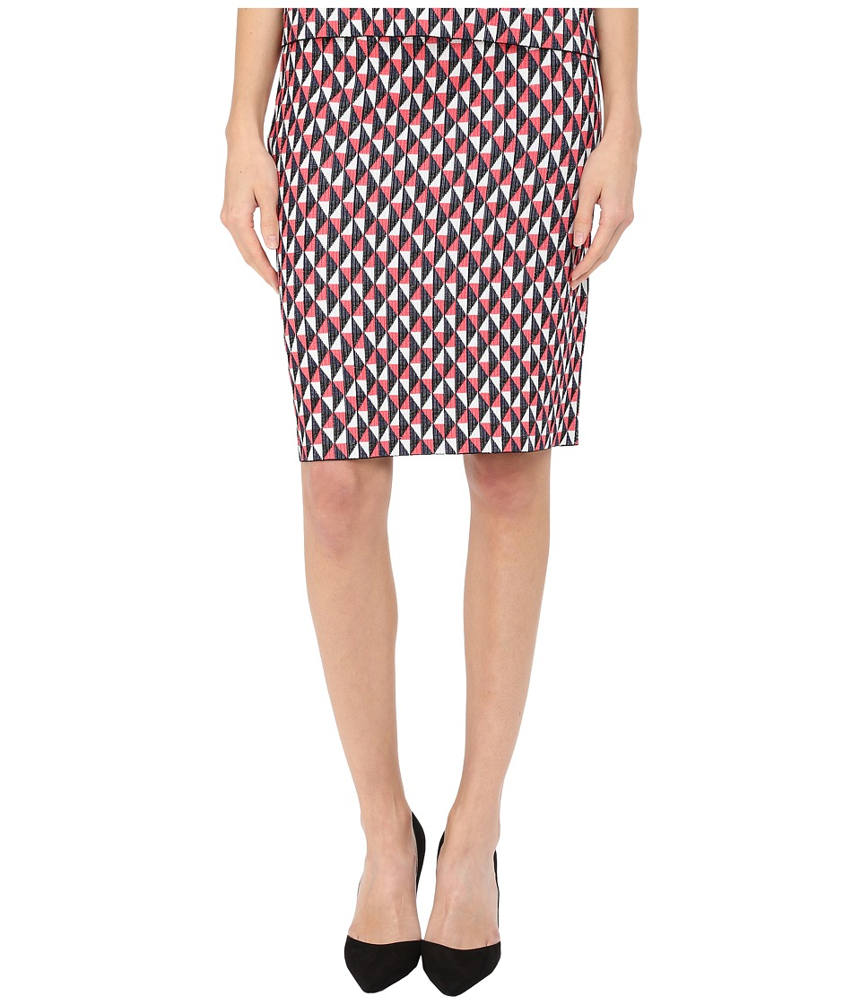 Kate Spade New York - Flying Kites Pencil Skirt (Geranium Multi) Women's Skirt