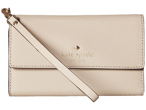 Kate Spade New York - Cedar Street Phone 6 Wristlet (Clocktower) Cell Phone Case