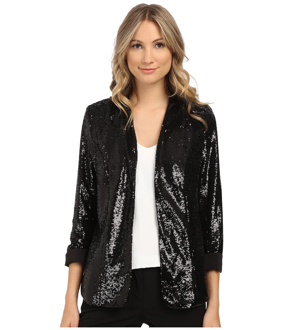 Sam Edelman - Sequin Blazer (Black) Women's Jacket