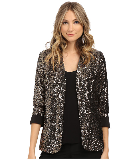 Sam Edelman - Sequin Blazer (Gold) Women's Jacket