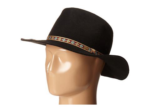 Volcom - Buckaroo Fedora Hat (Black) Fedora Hats