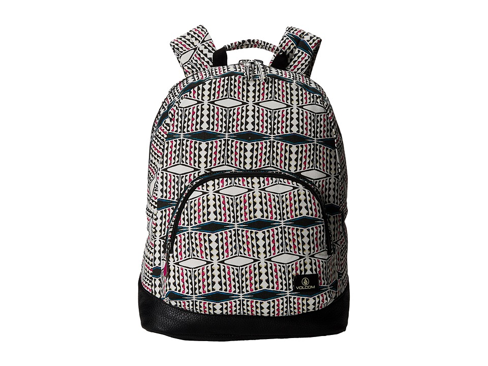 Volcom - Schoolyard Canvas Backpack (Fiesta Pink) Backpack Bags