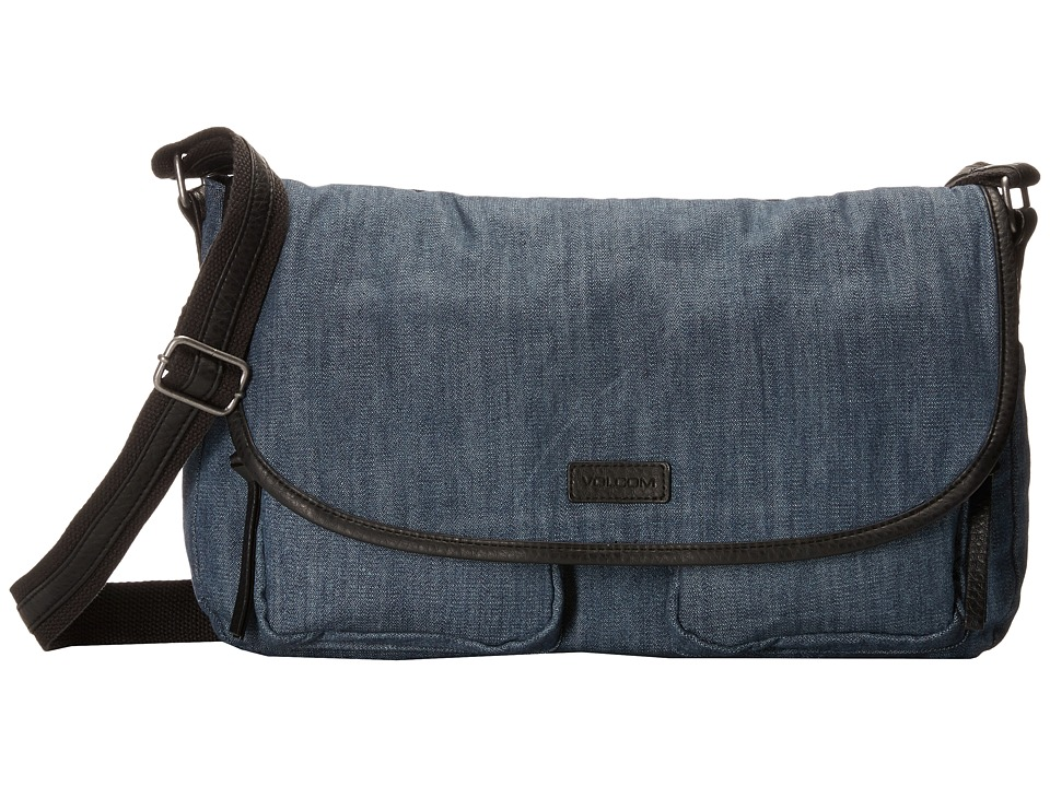 Volcom - Cruz Messenger (Denim) Messenger Bags