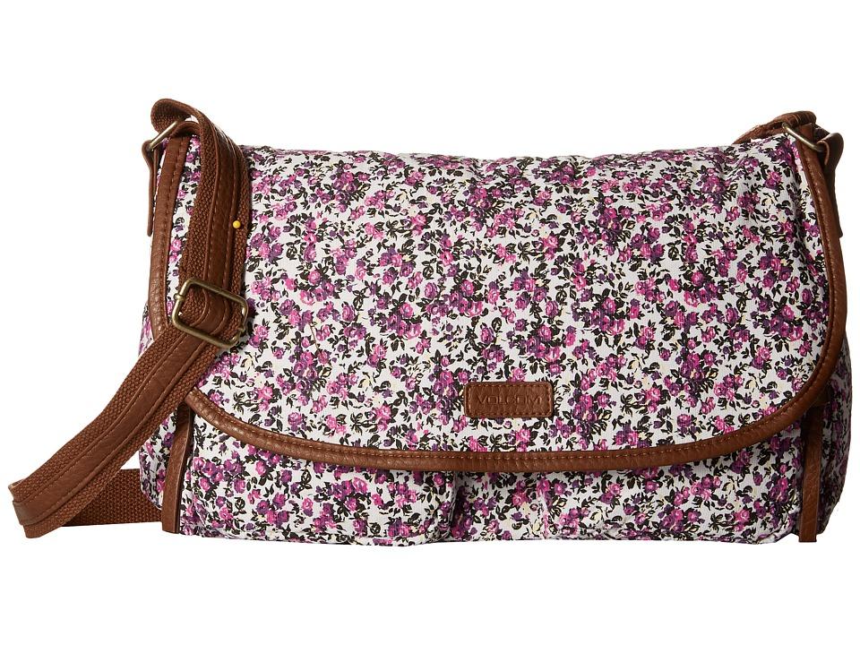 Volcom - Cruz Messenger (Fiesta Pink) Messenger Bags
