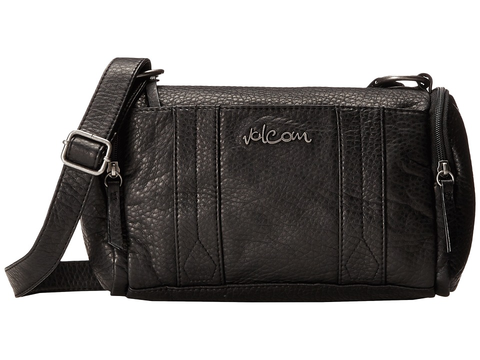 Volcom - Grapa Shoulder Bag (Black) Shoulder Handbags