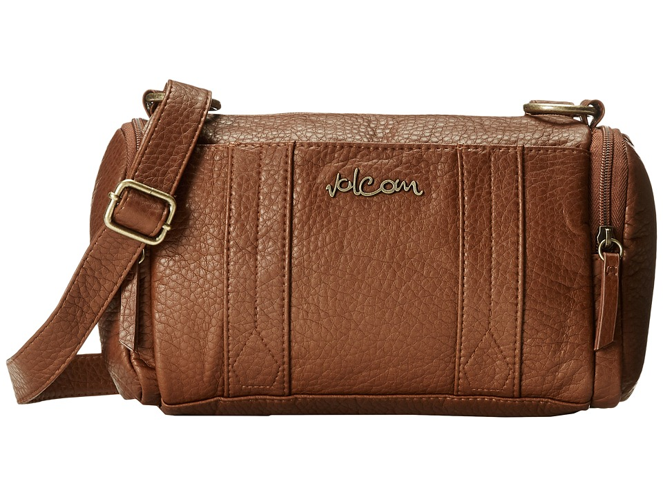 Volcom - Grapa Shoulder Bag (Brown) Shoulder Handbags