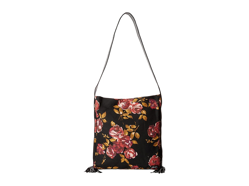 Volcom - Dulce Tote (Black) Tote Handbags