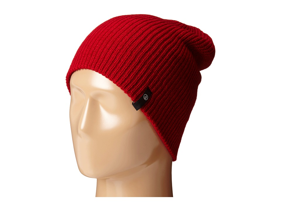 Volcom - Slight Chile Beanie (Blood Red) Beanies