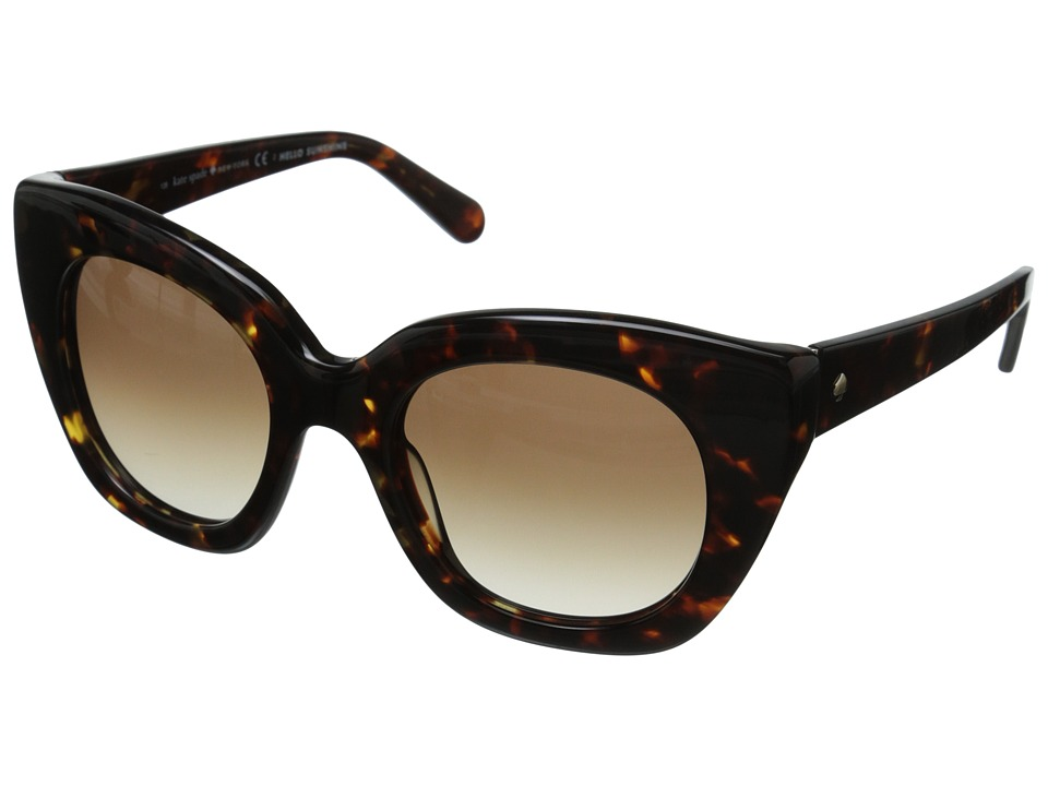 Kate Spade New York - Narelle (Tortoise/Warm Brown Gradient) Fashion Sunglasses