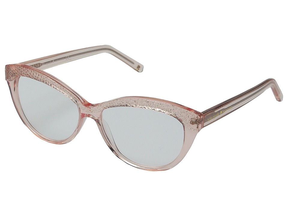 Kate Spade New York - Zabrina (Transparent Pink Glitter) Reading Glasses Sunglasses