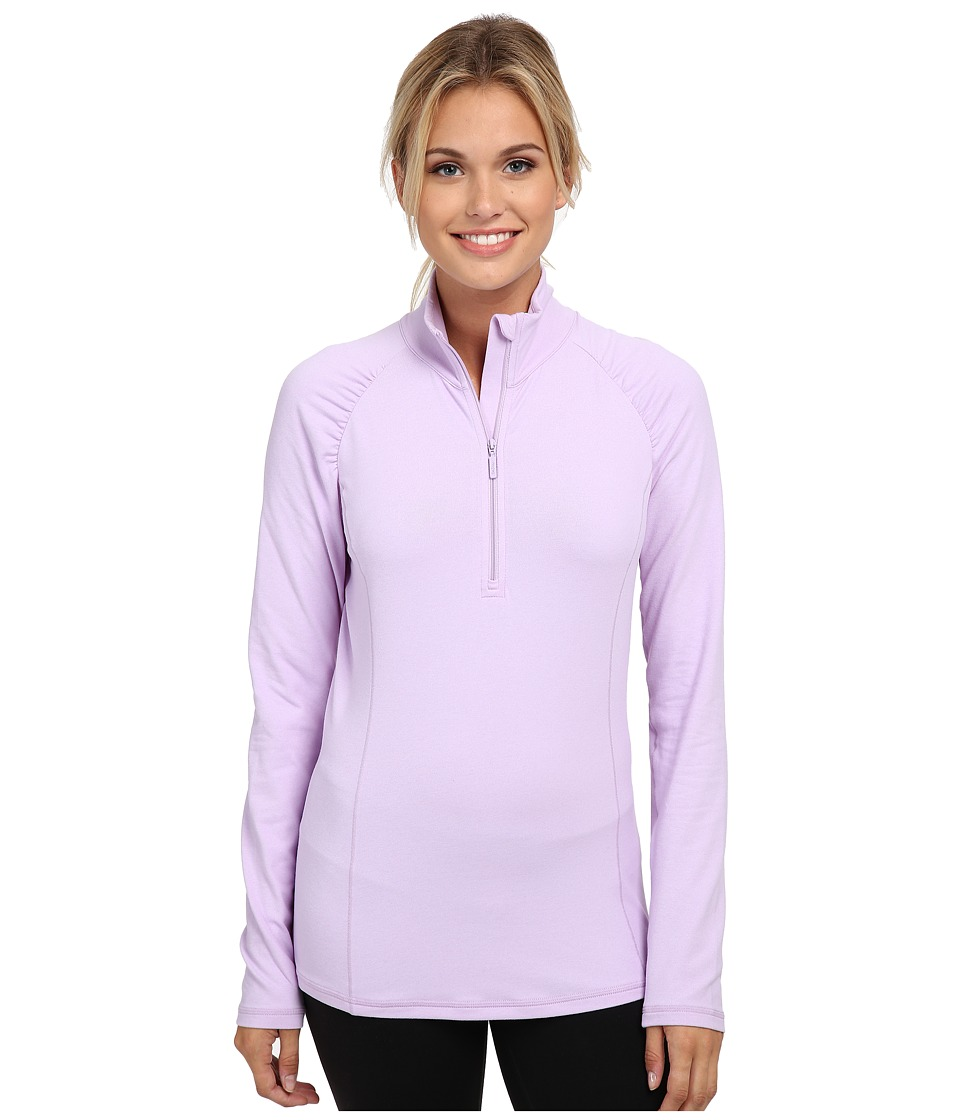 Lilly Pulitzer - Weekender Half Zip (Iced Lilac) Women's Clothing
