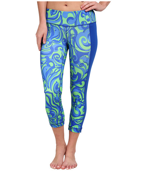 Lilly Pulitzer - Weekender Cropped Pants (Canopy Green Im No Angel) Women