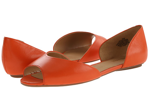 Nine West - Blossom (Orange Leather) Women's Flat Shoes