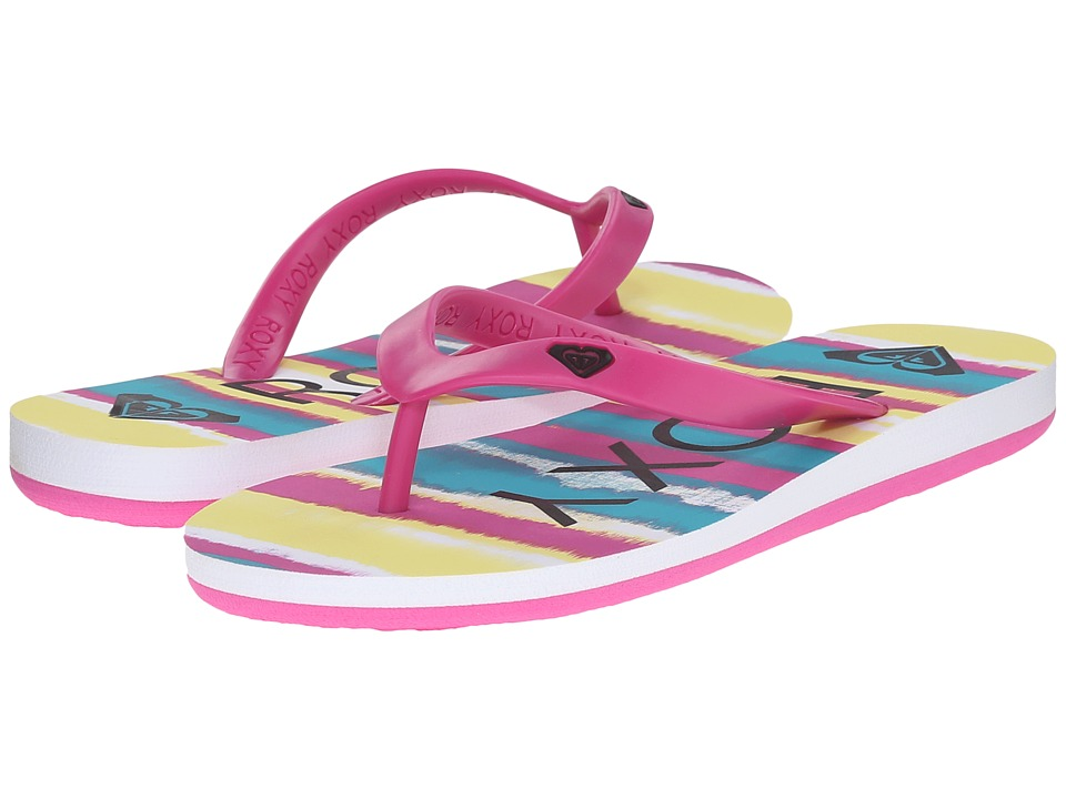 Roxy Kids - Tahiti V (Little Kid/Big Kid) (Fuchsia) Girls Shoes