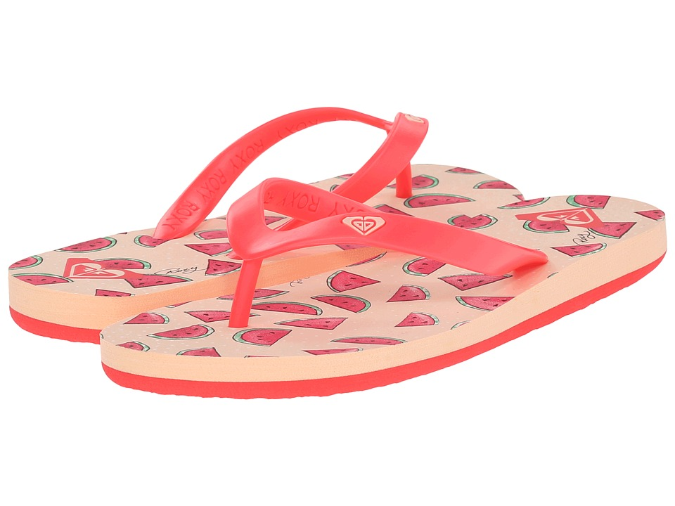 Roxy Kids - Tahiti V (Little Kid/Big Kid) (Watermelon) Girls Shoes