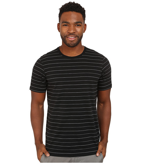 Hurley - Dri-FIT Brooks Crew T-Shirt (Black) Men's T Shirt