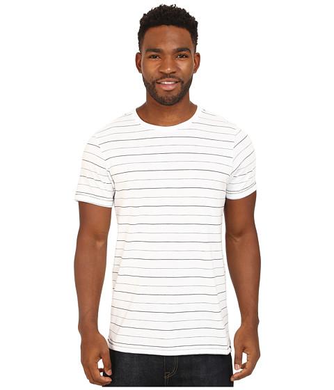 Hurley - Dri-FIT Brooks Crew T-Shirt (White) Men