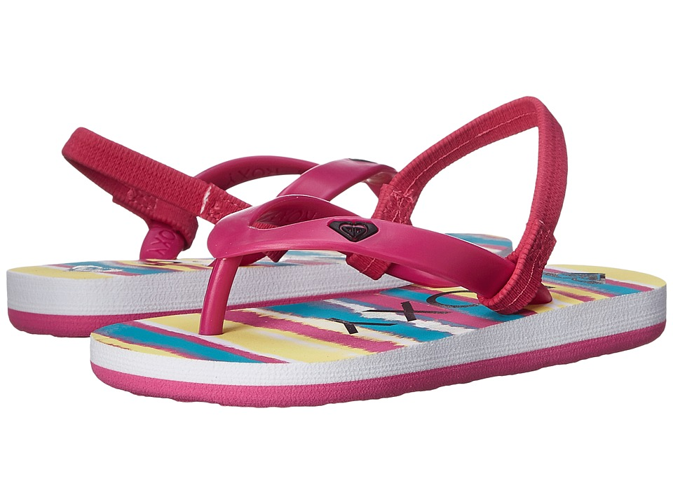 Roxy Kids - Tahiti V (Toddler) (Fuchsia) Girls Shoes