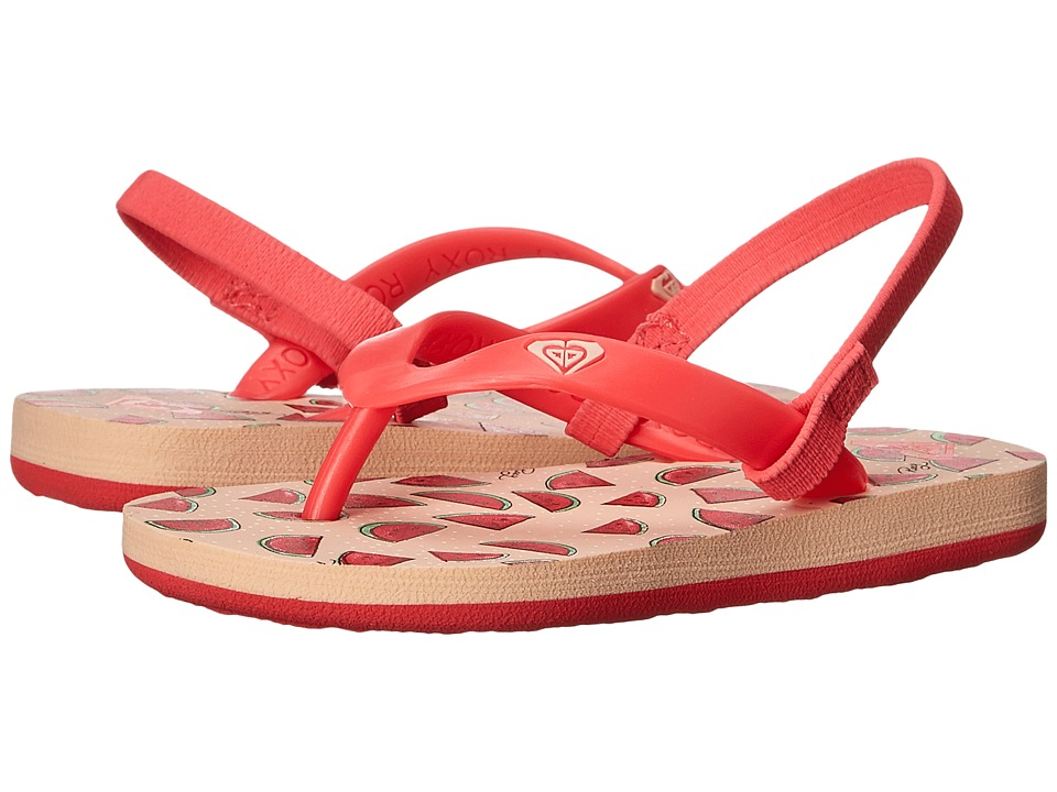 Roxy Kids - Tahiti V (Toddler) (Watermelon) Girls Shoes