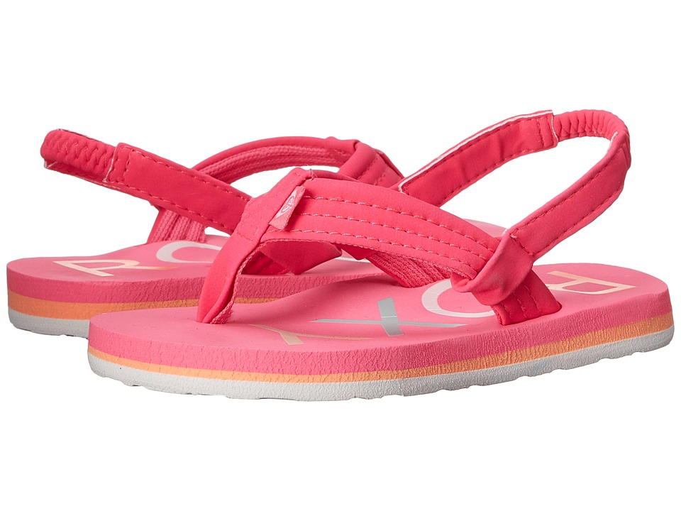 Roxy Kids - Vista (Toddler) (Hot Pink) Girls Shoes