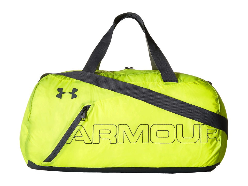 Under Armour - UA Adaptable Duffel (High-Vis Yellow/Graphite/Silver) Duffel Bags