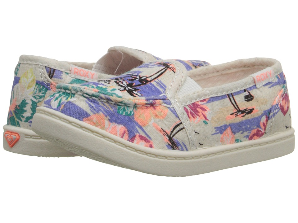 Roxy Kids - Lido III (Toddler) (Blue Surf) Girl's Shoes