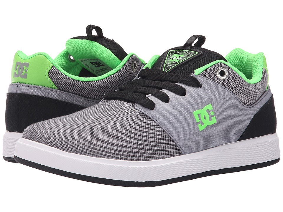 DC Kids - Cole Signature TX SE (Big Kid) (Grey/Green/Grey) Boys Shoes