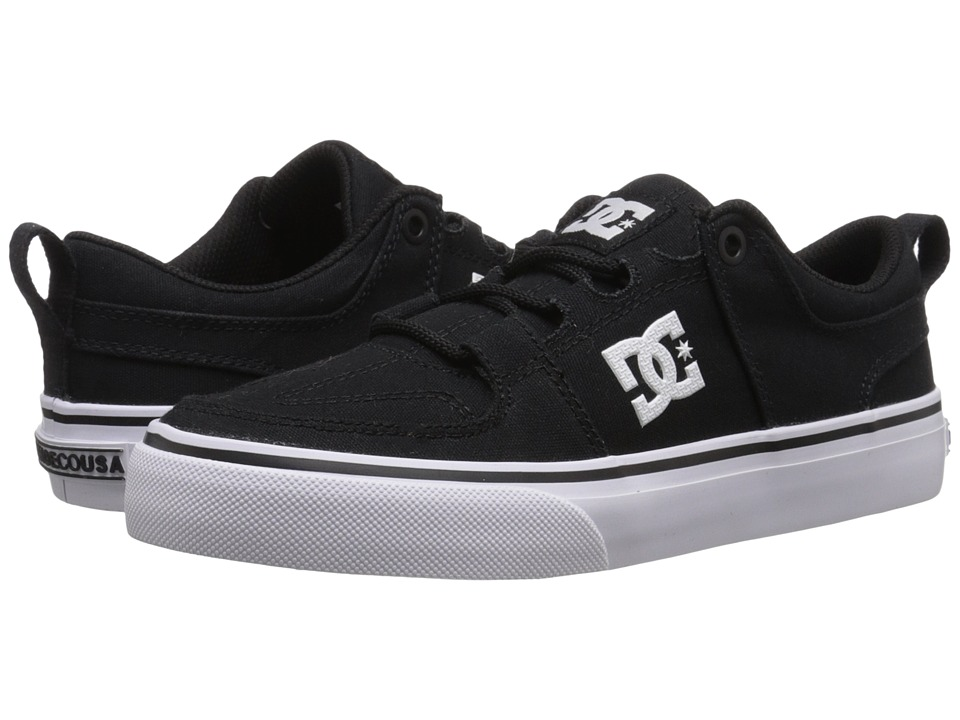 DC Kids - Lynx Vulc TX (Little Kid) (Black) Boys Shoes