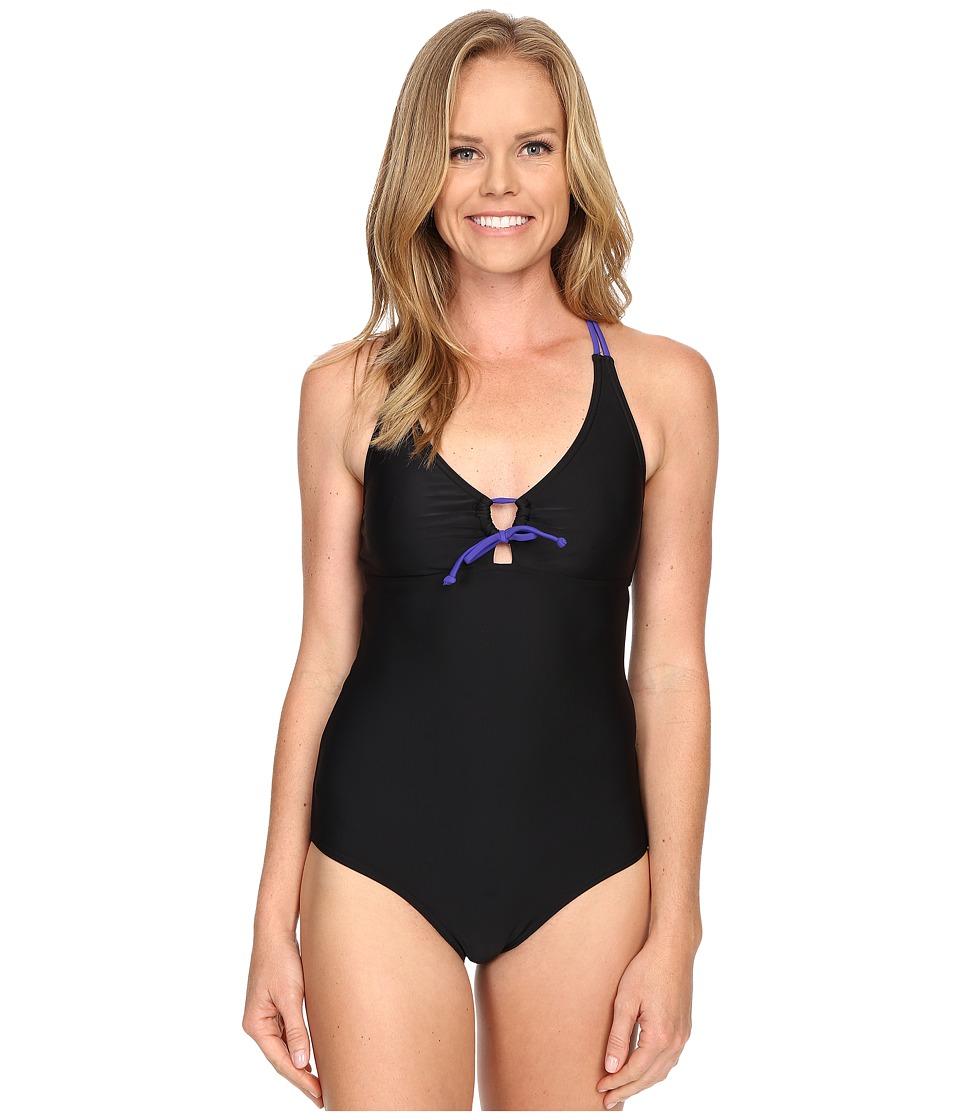 Prana - Inez One-Piece (Black) Women's Swimsuits One Piece