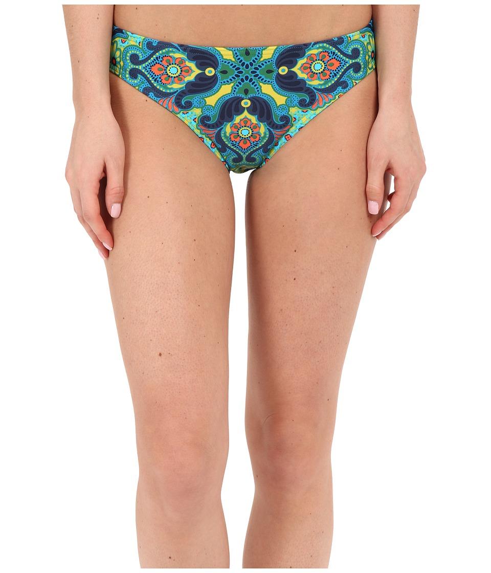 Prana - Lani Bottom (Vivid Blue Jasmine) Women's Swimwear