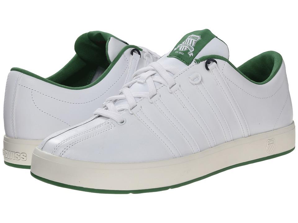 K-Swiss - The Classic II (White/Juniper/Navy/Cloud Dancer) Men's Shoes