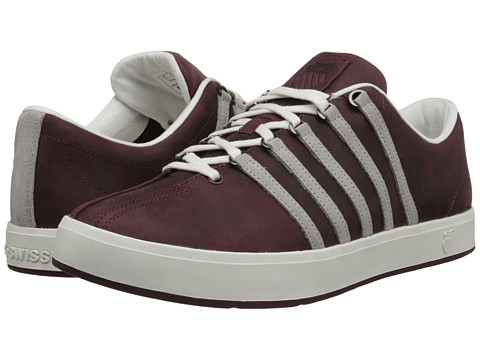K-Swiss - The Classic II P (Wine/Pumice/Cloud Dancer) Men's Shoes
