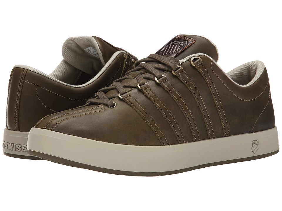 K-Swiss - The Classic II P (Dark Olive/Beachwood) Men