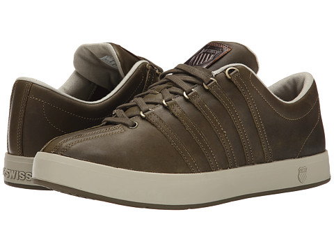 K-Swiss - The Classic II P (Dark Olive/Beachwood) Men's Shoes
