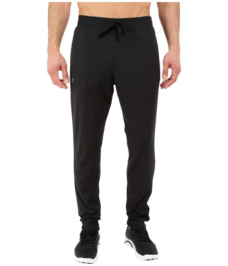 Under Armour - UA Sportstyle Jogger Pants (Black/Black/Steel) Men's Casual Pants