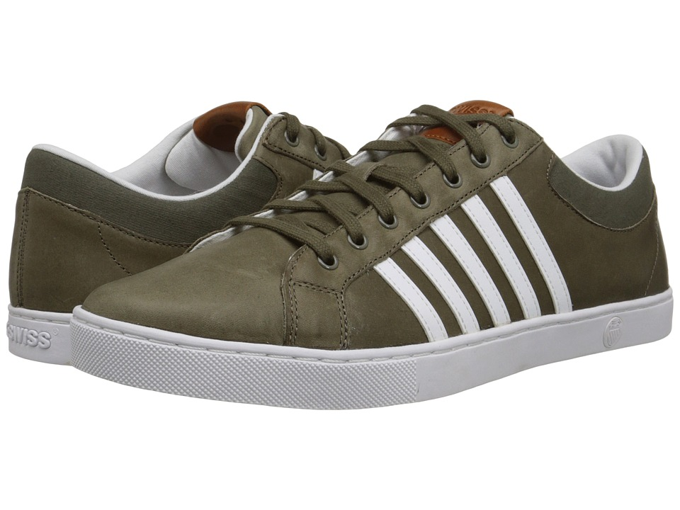K-Swiss - Adcourt '72 SO P (Canteen/White) Men's Shoes