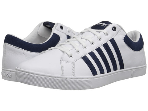K-Swiss - Adcourt '72 SO (White/Mood Indigo) Men's Shoes