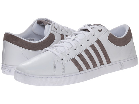K-Swiss - Adcourt '72 SO (White/Driftwood) Men's Shoes