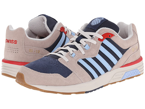 K-Swiss - SI-18 Rannell 2 (Simple Taupe/Mood Indigo/Soft Blue) Men