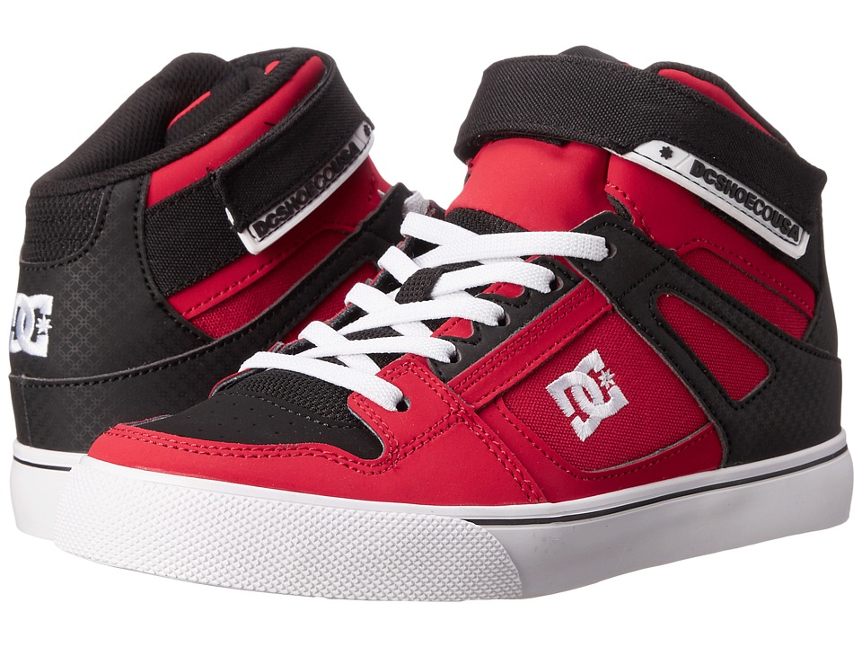 DC Kids - Spartan High EV (Big Kid) (Red/Black) Boys Shoes