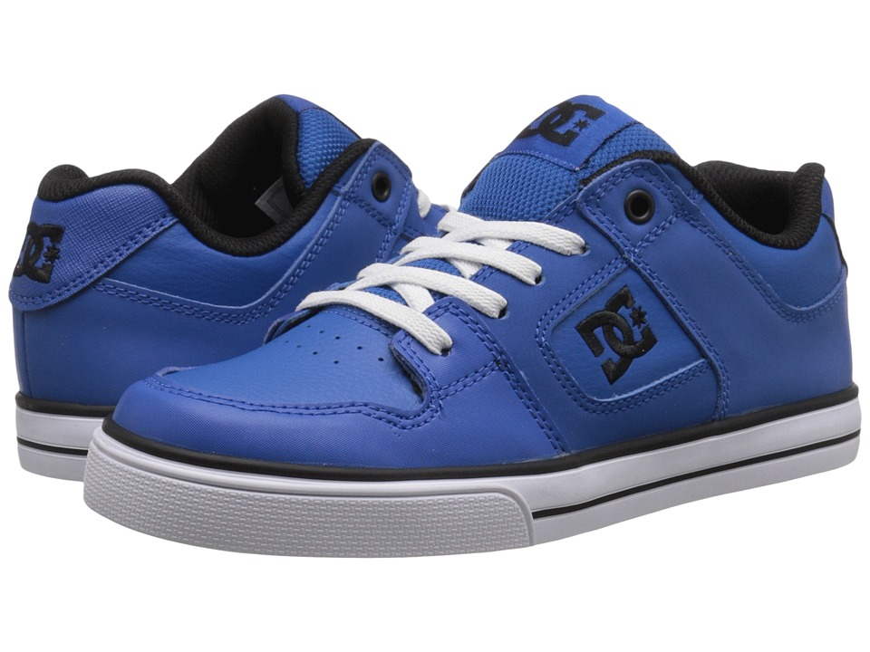 DC Kids - Pure Elastic (Big Kid) (Nautical Blue) Boys Shoes