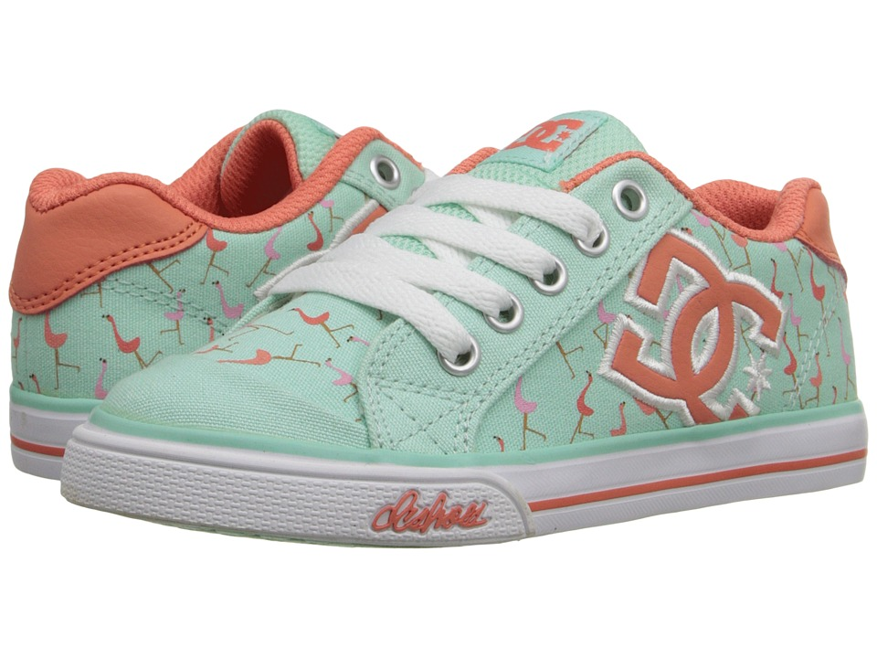 DC Kids - Chelsea Graffik (Little Kid) (Misty Blue) Girls Shoes