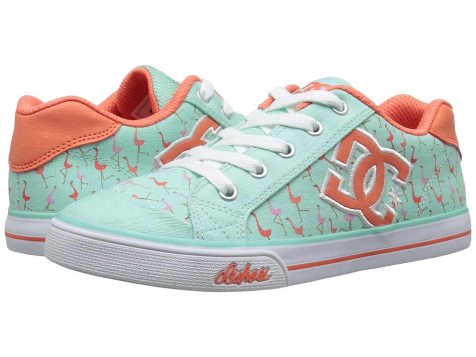 DC Kids - Chelsea Graffik (Big Kid) (Misty Blue) Girls Shoes