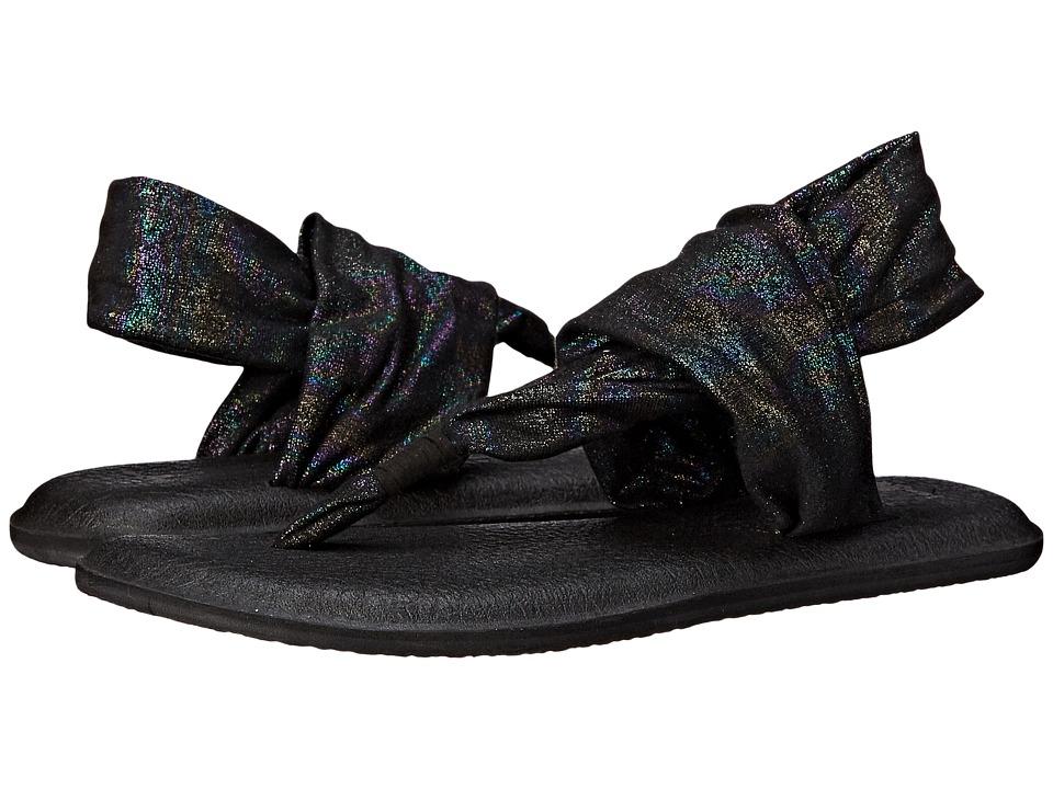 Sanuk - Yoga Sling 2 Metallic (Black Rainbow) Women's Sandals