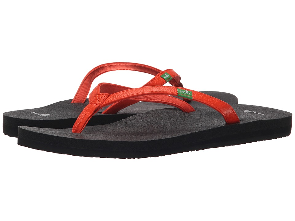 Sanuk - Yoga Joy (Flame) Women's Sandals